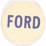 Gerald Ford Blue, White Celluloid