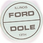 Ford, Dole Illinois 13th District