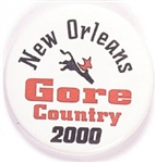 New Orleans Gore Country