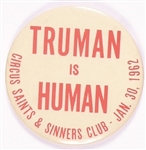 Truman is Human Chicago Event Celluloid