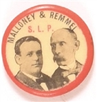 Malloney and Remmel Socialist Labor Party Jugate