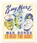 Buy More War Bonds to Beat the Axis Stamp