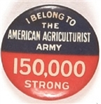 World War II Agriculture Army