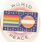 World Peace Colorful Celluloid