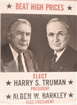 Truman, Barkley Beat High Prices