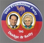 Dodge, Kelly Prohibition Party