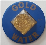 Goldwater Plastic Dome Large Pinback