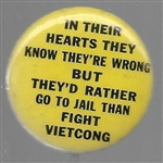 Rather Go to Jail Than Fight Viet Cong