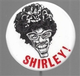 Shirley! Chisholm Caricature Pin