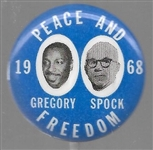 Gregory, Spock Peace and Freedom